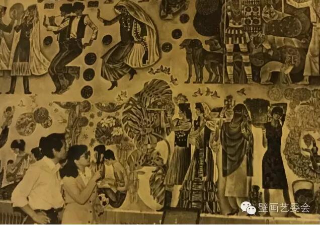 壁画大家 | 刘秉江:《创造•收获•欢乐》及其他