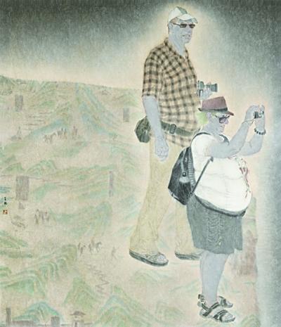 """挥洒新笔墨 讴歌新时代——""""第十三届全国美展中国画作品展""""在山东举办"""