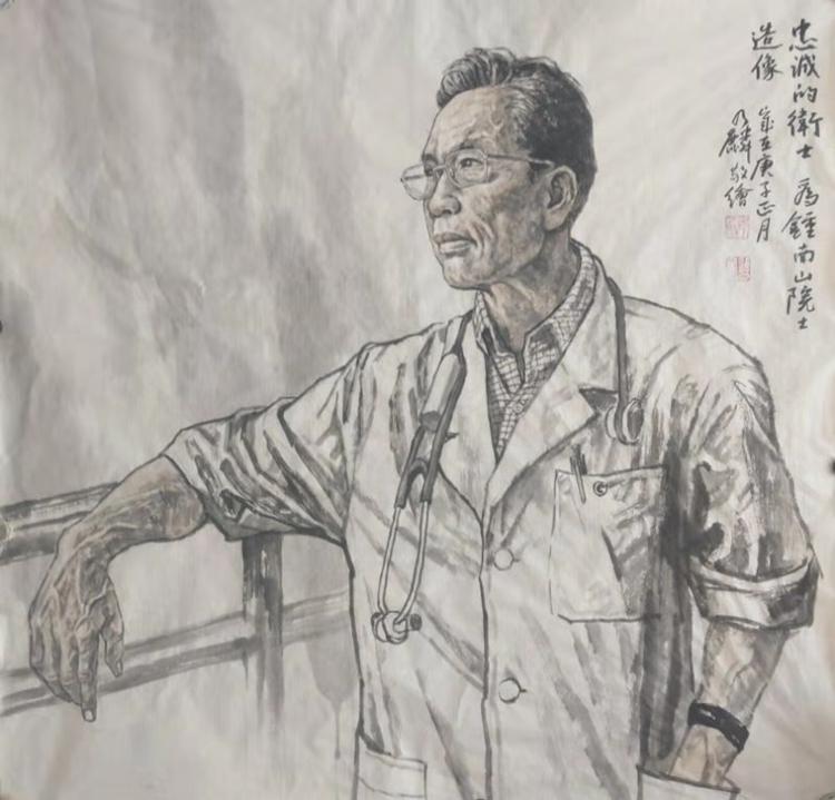 众志成城 抗击疫情:美术家在行动之中国画篇一