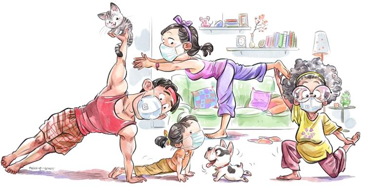 13《宅家健身》李昊    漫画.jpg