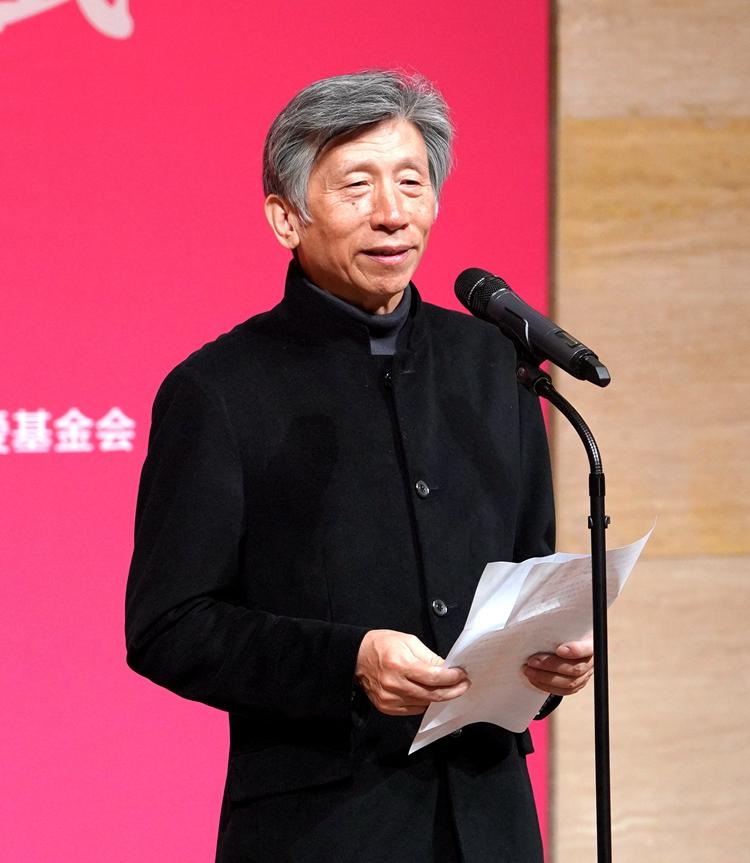中国美协主席、中央美术学院院长范迪安在开幕式上致辞.jpg
