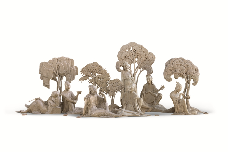 115魏晋七士子-陈?科-(北京)-528 cm × 190 cm × 210cm-?雕塑-2016_副本.jpg