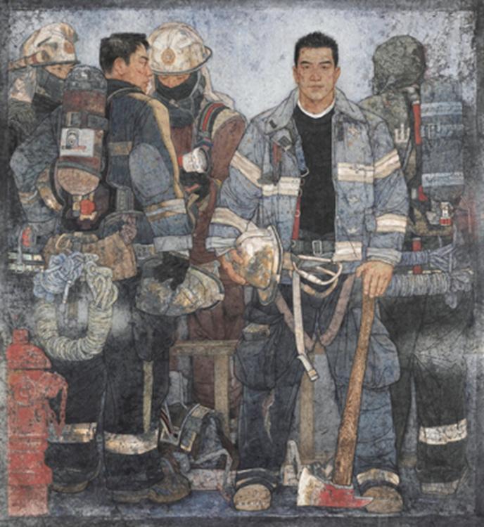 192李玉旺-《使命》-山东-中国画-金奖.jpg