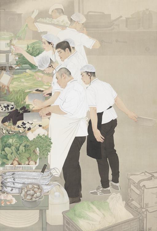 194陈治、武欣-《尖峰食刻》-天津-中国画-铜奖.jpg