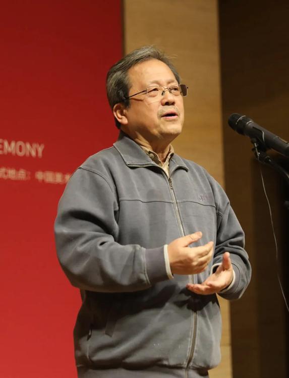 2中国文联副主席、中央文史研究馆副馆长、中国美术家协会名誉主席冯远开幕式致辞.jpg
